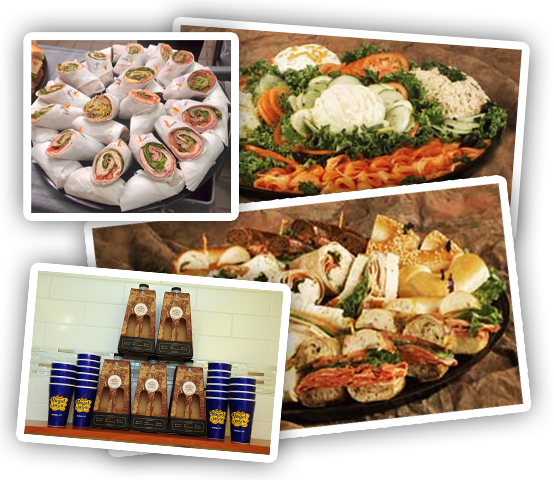 Catering Bagels Wraps and Shmears